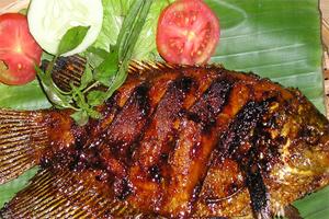 Ikan Nila Bakar dan Gurame