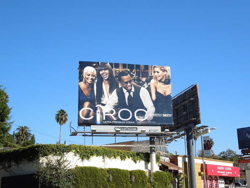 Cîroc Vodka 2013 billboard