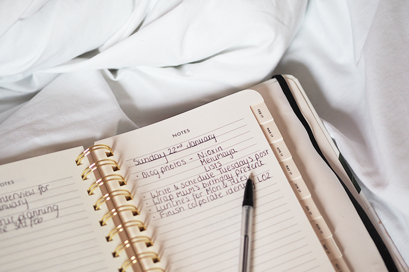 7 Reasons To-do Lists Are Important for organisation and mental health | Colours and Carousels - Scottish Lifestyle, Beauty and Fashion blog