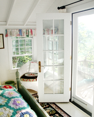 tiny cottage bedroom