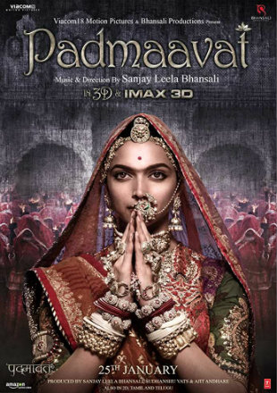 Padmaavat 2018 Full Hindi Movie Download BRRip 720p