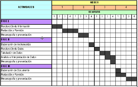 Calendario De Tesis.Asesoria De Tesis Y Trabajos De Grado Como Hacer Un