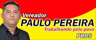 CLIQUE E ACESSE A FANPAGE DO VEREADOR PAULO PEREIRA