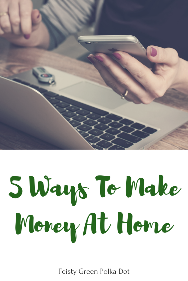five ways to make money