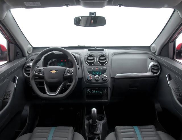 Chevrolet Montana 2018 - interior