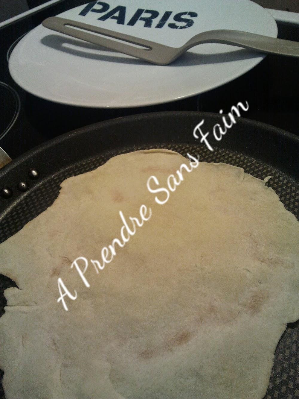 Tortillas de blé fait maison (pas à pas en photos)