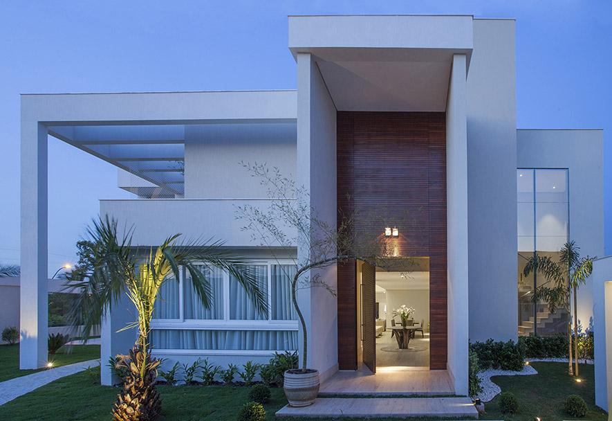Arquitetura nova and google on pinterest for Google casas modernas
