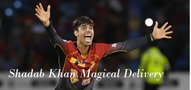 Shadab Khan Magical Delivery to Simmons ( Ball of the tournament)