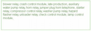 fuse box bmw 540i 1993 diagram diagrams circuit. Black Bedroom Furniture Sets. Home Design Ideas
