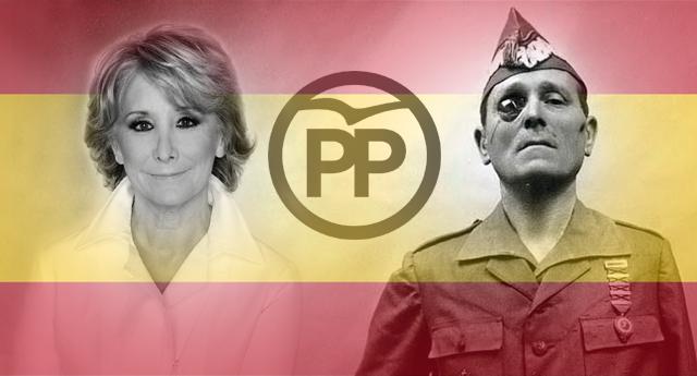 Esperanza Aguirre sale en defensa del franquista Millán Astray