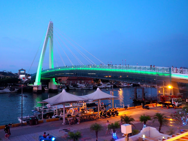 Lover's Bridge, Tamsui, Taipei, Taiwan