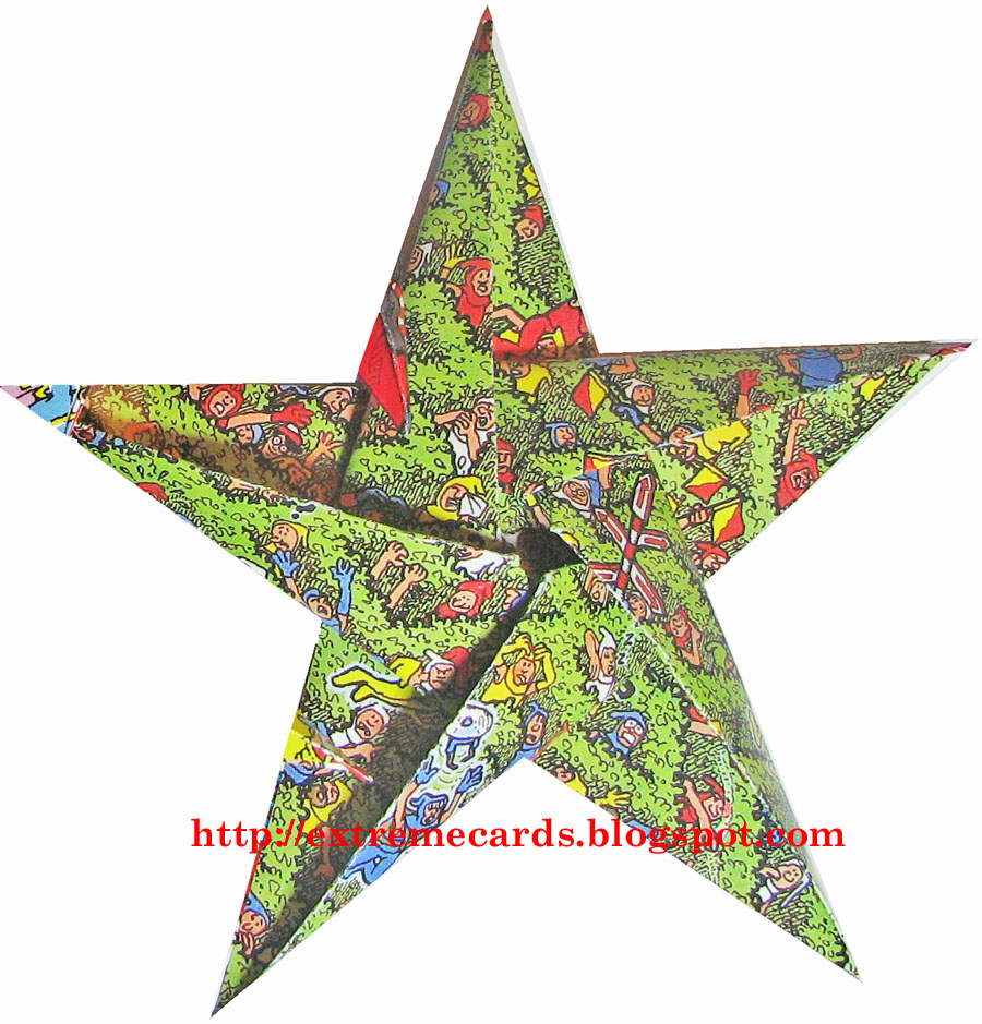 Wheres Waldo Origami Star