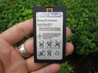 Baterai Sony Ericsson BST-22 Original 100%
