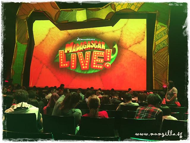 Madagascar live show MBS