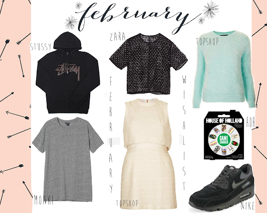 February Wishlist || 2014