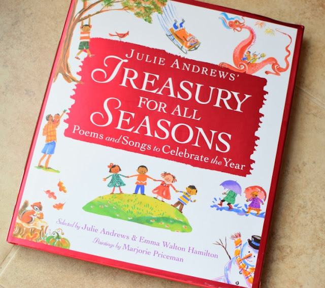 Treasury For All Seasons, part of reading roundup- favorite books from June