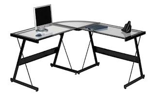 компьютерный стол угловой стеклянный