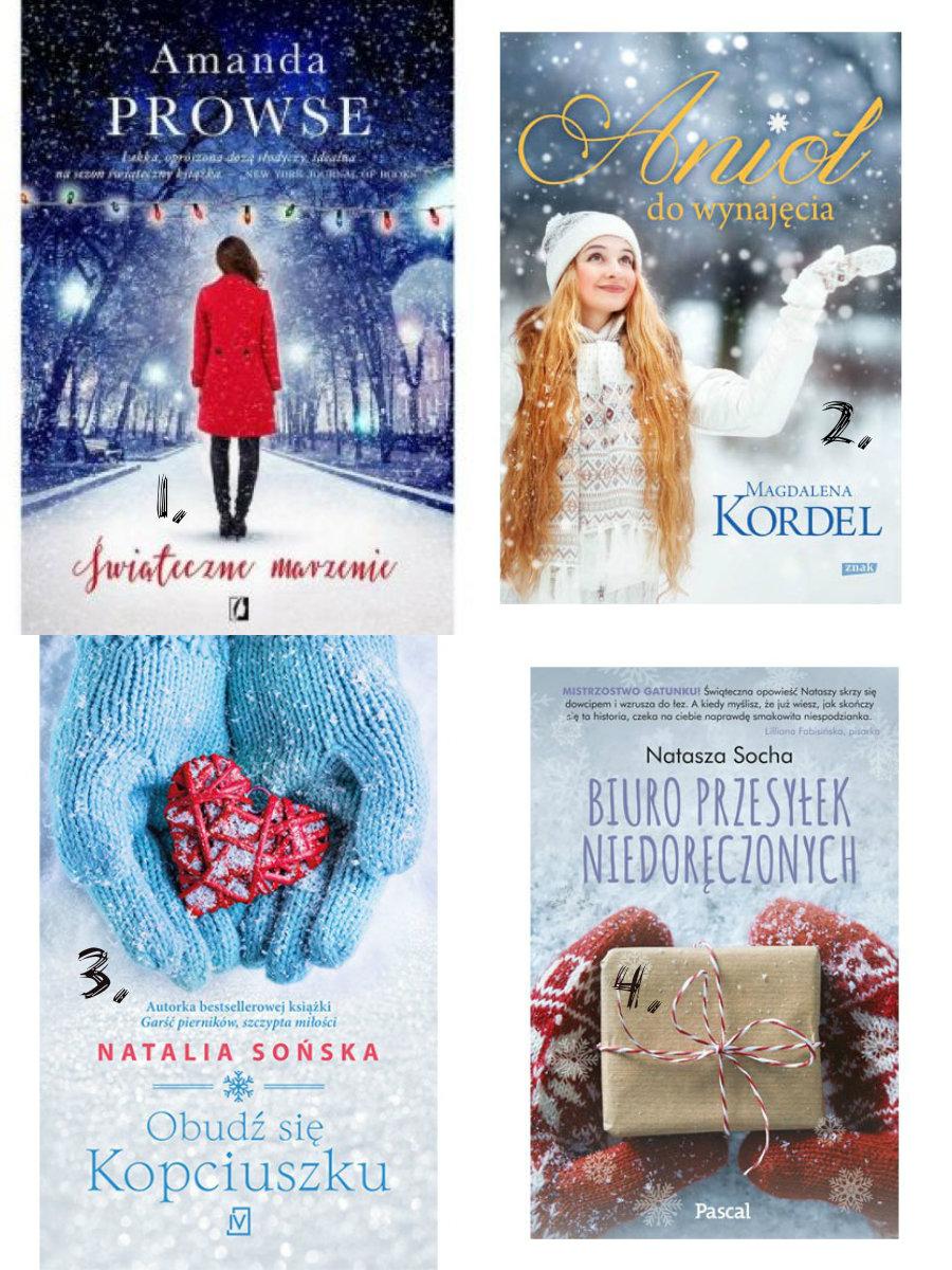Moje ulubione książki na święta z Bożym Narodzeniem w tle.