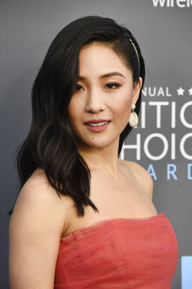 HD Photos of HOT & Sexy Constance Wu At 2018 critics Choice Awards In Santa Monica