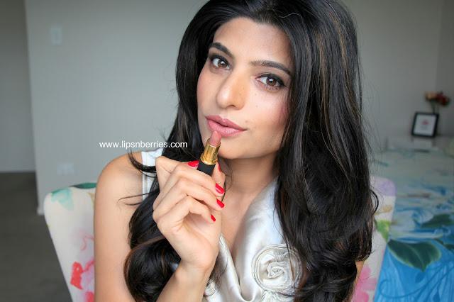 MAC Rockit lipstick swatch