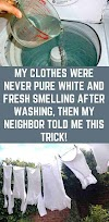 My Clothes Were Never Pure White and Fresh Smelling after Washing. Then my Neighbor Told me This Trick!