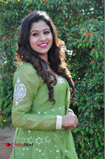 Actress Manaali Rathod Latest Pictures in Green Dress  0030