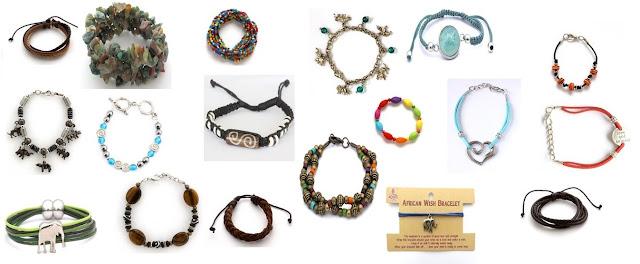 African Curios Jewelry - Bracelets
