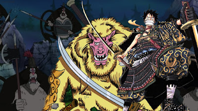 nya menuju kerajaan Wano kesudahannya tinggal sejengkal lagi hingga tujuan [ REVIEW ONEPIECE 910 ] MONKEY [ KING ] D. LUFFY!!!