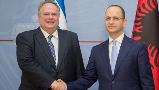 Nikos Kotzias and Ditmir Bushati