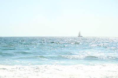 Sailboat in Santa Monica - Photography by Mademoiselle Mermaid