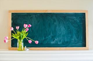 Easy Farmhouse Style Chalkboard DIY