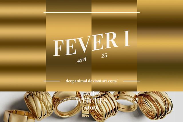19 Fever I – Photoshop Gradients