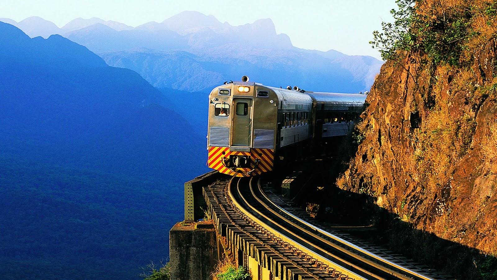Lista de passeios de trem pelo Brasil