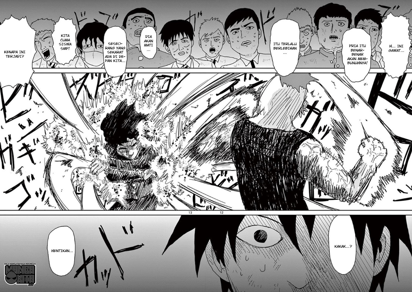 Mob Psycho 100 Chapter 32-13