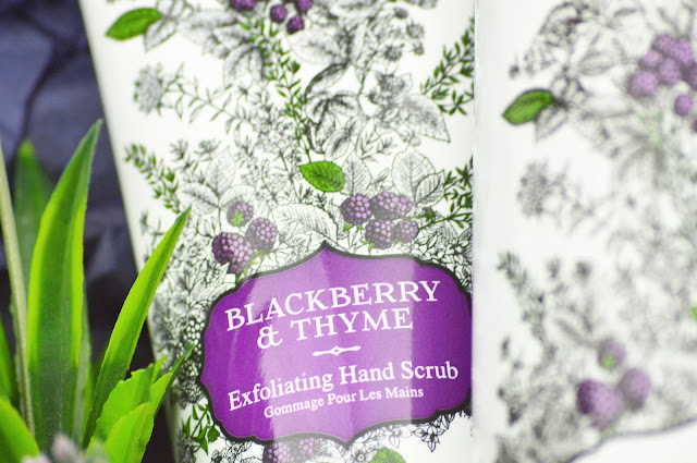 Lovelaughslipstick blog Woods of Windsor Gardeners Hands Collection Blackberry & Thyme New Releases Review