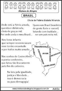 Poesia sobre o Brasil
