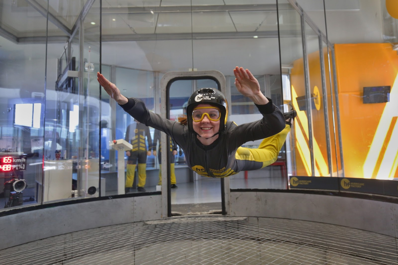 indoor skydiving, hurricane factory, letňany, Lucie Srbová