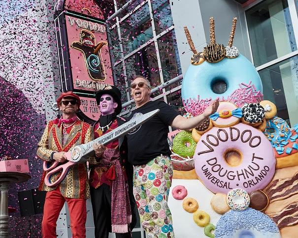 Loja de Donuts Voodoo Doughnuts no Universal's CityWalk