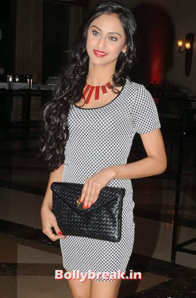 Krystle D'Souza, Page 3 Celebs at Rohit Varma's A Beautiful You Inside Out Show