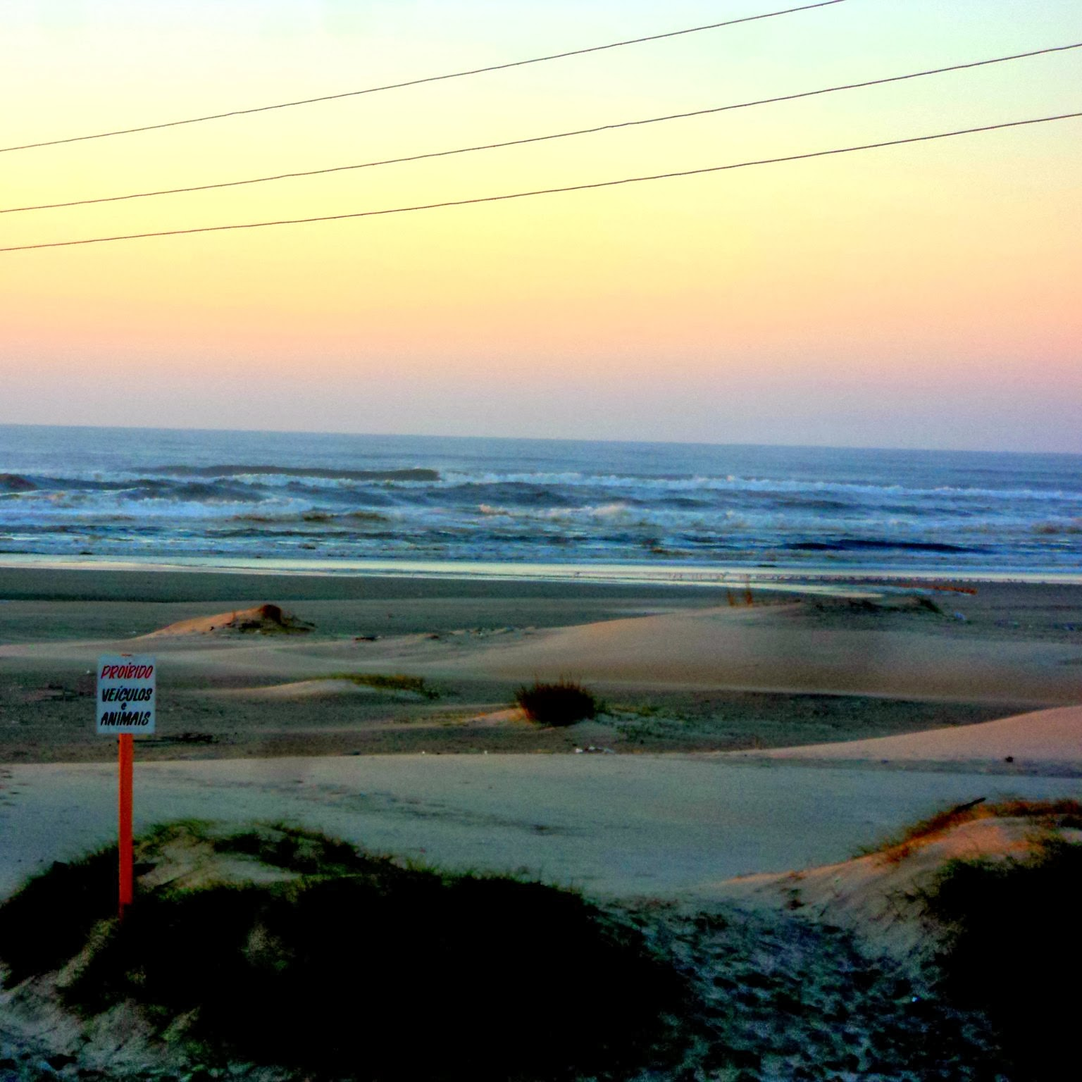 Nascer do Sol na Praia, em Arroio do Sal