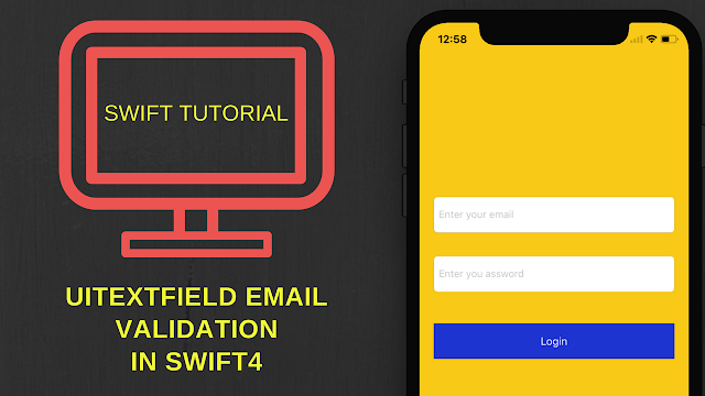 Email address validation in swift