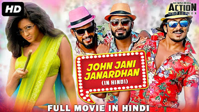 John Jani Janardhan 2018 Hindi Dubbed WEBRip 480p 350Mb