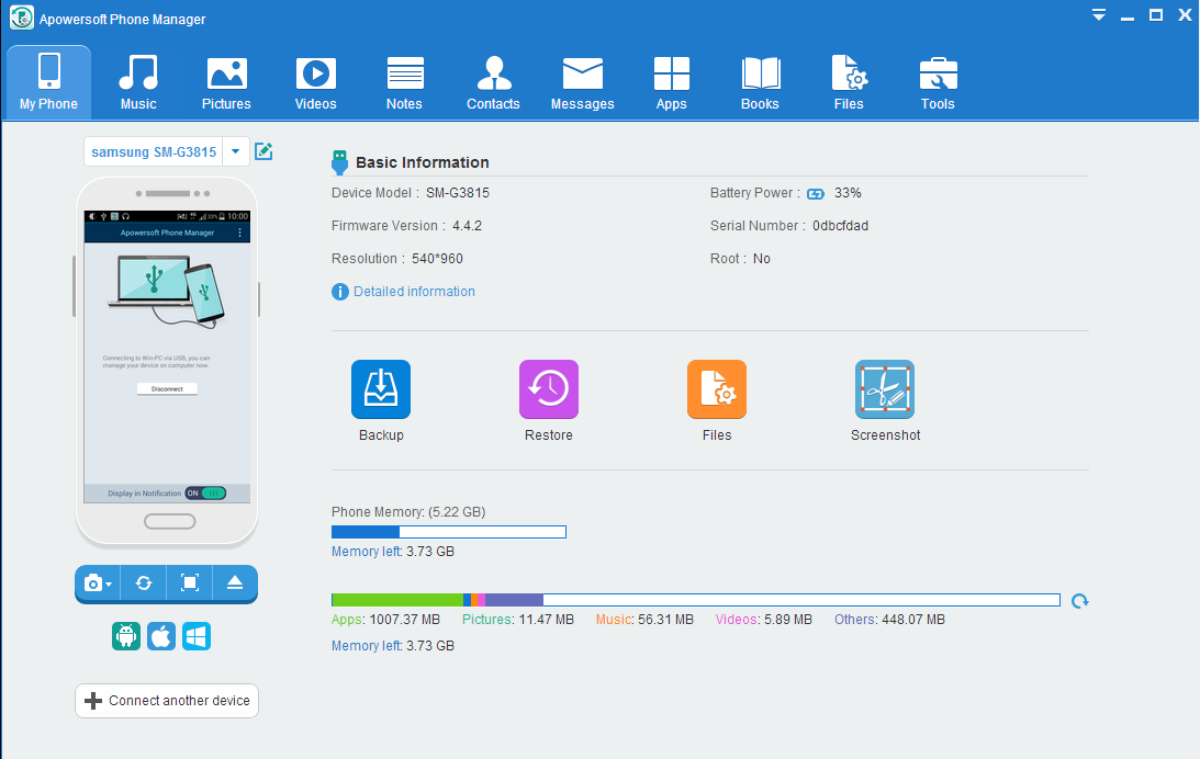 Apowersoft Phone Manager Pro