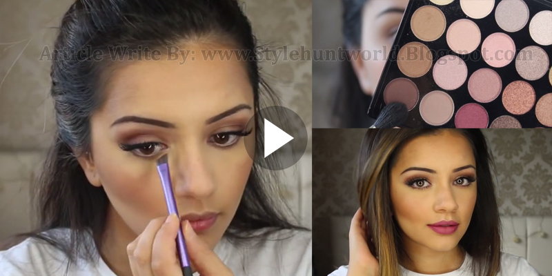 Asian Party Occasional Simple Makeup Tutorial Step By