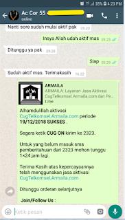 Testimoni CUG Telkomsel Kartu Pasangan Kartu Komunitas Kartu Soulmate Kartu Couple 19 Desember 2018