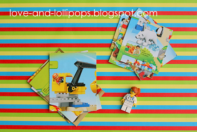 Love and Lollipops: Lego catalogue ideas {and a Giveaway winner}