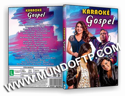 karaoke para dvd com pontuao gospel