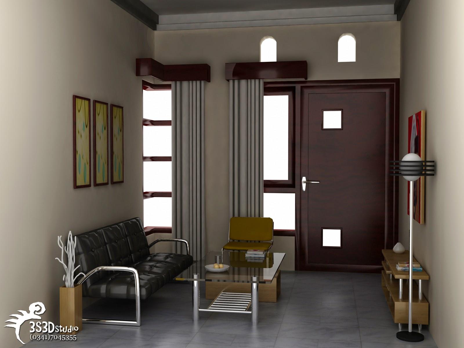 Contoh Desain Ruang Tamu Sederhana Minimalis 8 Desain Interior