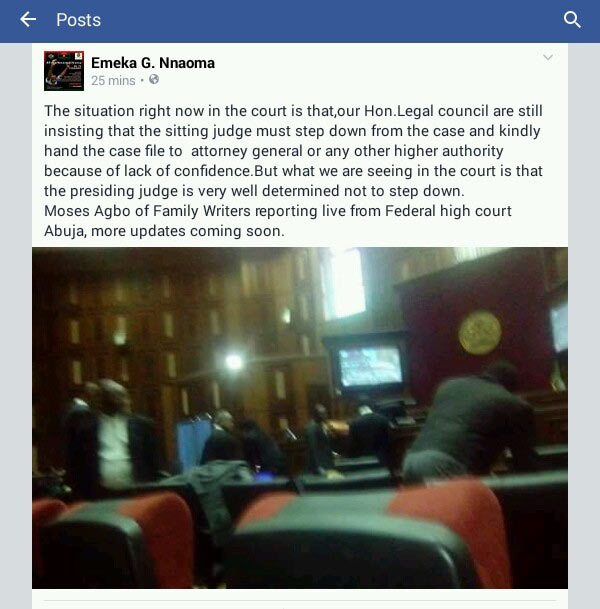 Power outage hits courtroom as Nnamdi Kanu is arraigned