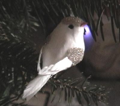 Snow bird craft ornaments
